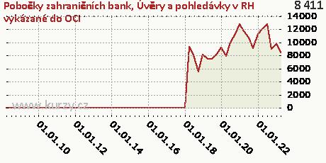 Úvěry a pohledávky,Pobočky zahraničních bank