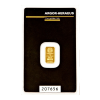 Investi�n� zlato - zlat� slitek 1g Argor Heraeus