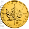 Zlatá mince 1 oz (trojská unce) MAPLE LEAF Kanada 2017
