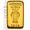 Zlatý slitek 250g HERAEUS (Německo)