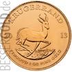 Zlatá mince 1 oz (trojská unce) KRUGERRAND Jižní Afrika 2017