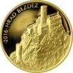 Zlatá mince 5000 Kč Bezděz 2016 Proof