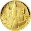 Zlatá mince 5000 Kč Bouzov 2017 Proof
