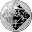 Stříbrná medaile Střelec Znamení zvěrokruhu Proof