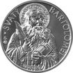 Stříbrná medaile Apoštol Bartoloměj 2016 Standard