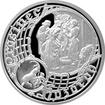 Stříbrná medaile Staroměstský orloj - Kozoroh 2016 Proof