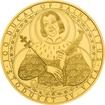 Zlatá investiční mince 500 NZD 100dukát sv. Víta 2016 Standard