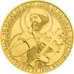 Zlatá investiční mince 250 NZD 40dukát sv. Jana Nepomuckého 2016 Standard