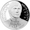 Stříbrná mince 2 NZD Zdeněk Nehoda 2016 Proof