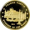 Zlatá mince Pražský hrad Miniatura 2010 Proof