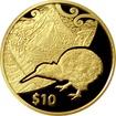 Zlatá mince Kiwi Treasures Mitre Peak 1/4 Oz 2014 Proof