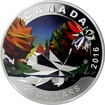 Stříbrná mince Maple Leaf 1 Oz Geometry in Art 2016 Proof (.9999)