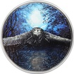 Stříbrná mince 3 Oz Sova Night Hunters 2017 Proof