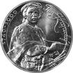 Stříbrná mince 100 Kčs Jan Kupecký 250. výročí úmrtí 1990