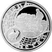 Stříbrná medaile Staroměstský orloj - Beran 2017 Proof