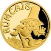 Zlatá mince Rumcajs 2017 Proof