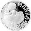 Stříbrná mince Manka 2017 Proof