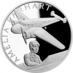 Stříbrná mince Století létání - Amelia Earhartová 2017 Proof