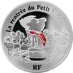 Stříbrná mince Mikulášovy patálie - škola 2014 Proof