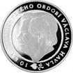 Stříbrná medaile 10. výročí vzniku ČR a 10 let prezidentského období Václava Havla 2003
