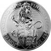 Stříbrná investiční mince The Queen's Beasts The Lion 10 Oz 2017