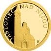 Zlatá mince Jablonec nad Nisou - Kostel Povýšení sv. Kříže 2017 Proof