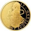 Zlatá mince Unicorn of Scotland 1 Oz 2017 Proof