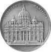 Stříbrná mince Infinity Minting - Bazilika svatého Petra 2017 Antique Standard