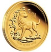 Exkluzivní Zlatá mince Year of the Dog - Rok Psa Lunární 1 Oz 2018 Proof