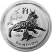 Stříbrná investiční mince Year of the Dog Rok Psa Lunární 1 Kg 2018