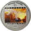 Stříbrná mince 3 Oz  Ulysses - William Turner 2017 Krystaly Proof
