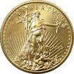 Zlatá investiční mince American Eagle 1/4 Oz