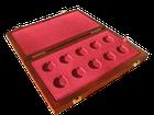 Dřevěná krabička 10 x Au ČR Technické dědictví