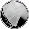 Stříbrná mince 200 Kč Jaroslav Ježek 100. výročí narození 2006 Proof