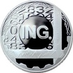 Stříbrná titulární medaile Ing. Proof