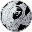 Stříbrná titulární medaile Mgr. Proof