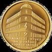 Zlatá půluncová medaile Zahájení výuky na pražské konzervatoři 2011 Číslo 1 Proof
