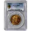 Zlatá mince 50 Frank Anděl - Génius 1904
