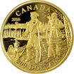 Zlatá mince Pierre Gaultier de La Vérendrye 2016 Proof
