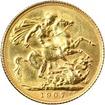 Zlatý Sovereign Král Eduard VII. 1902 - 1910
