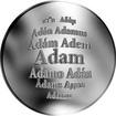 Česká jména - Adam - stříbrná medaile