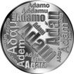 Česká jména - Adam - velká stříbrná medaile 1 Oz