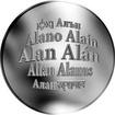 Česká jména - Alan - stříbrná medaile