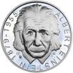 Albert Einstein - 135. výročí narození stříbro proof