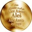 Česká jména - Aleš - zlatá medaile
