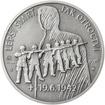Alois Eliáš - 28 mm stříbro patina