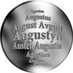 Česká jména - Augustýn - stříbrná medaile