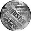 Česká jména - Augustýn - velká stříbrná medaile 1 Oz