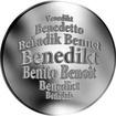 Česká jména - Benedikt - stříbrná medaile