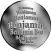 Česká jména - Benjamín - stříbrná medaile